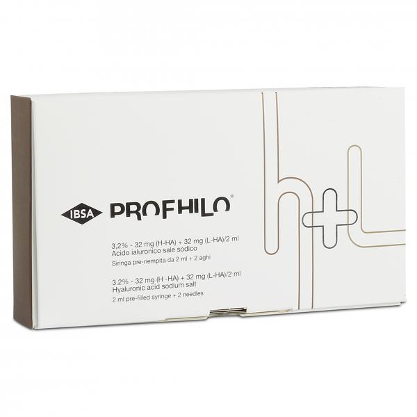 Profhilo Produktverpackung mit Spritzen